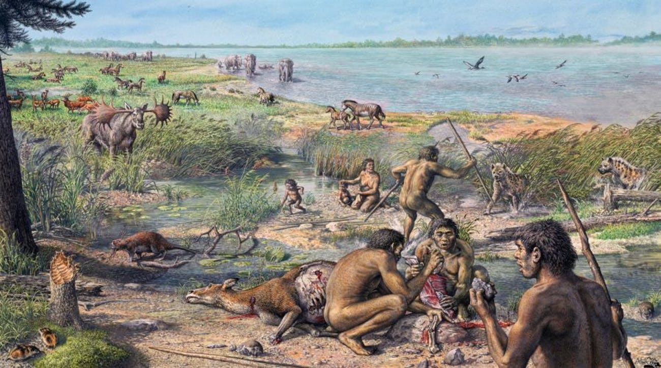 Pleistocene era people