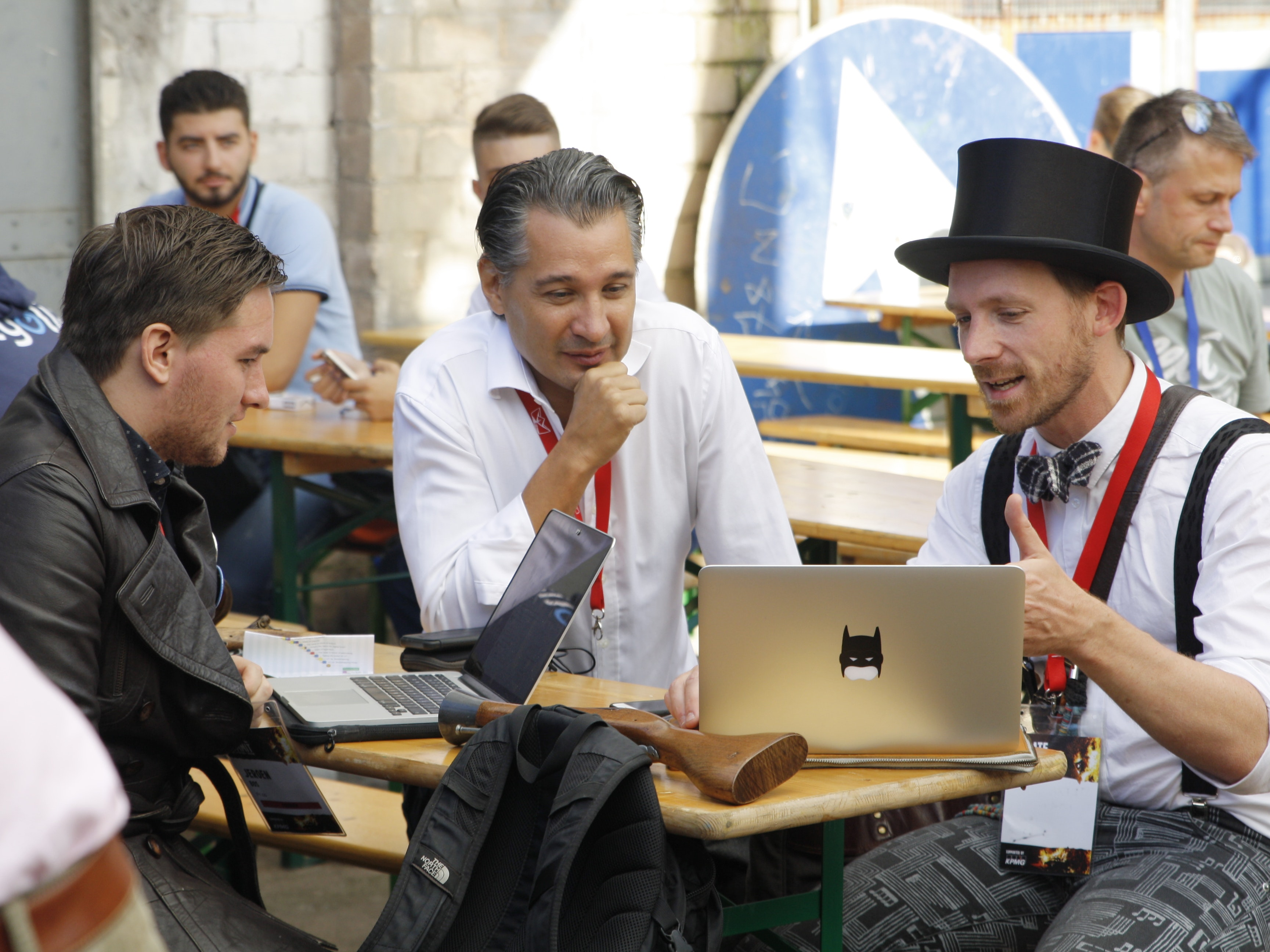 We Walked the Plank at Europe's Craziest Tech Conference
