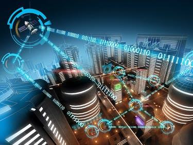 future city data transfer connectivity smart city internet of things
