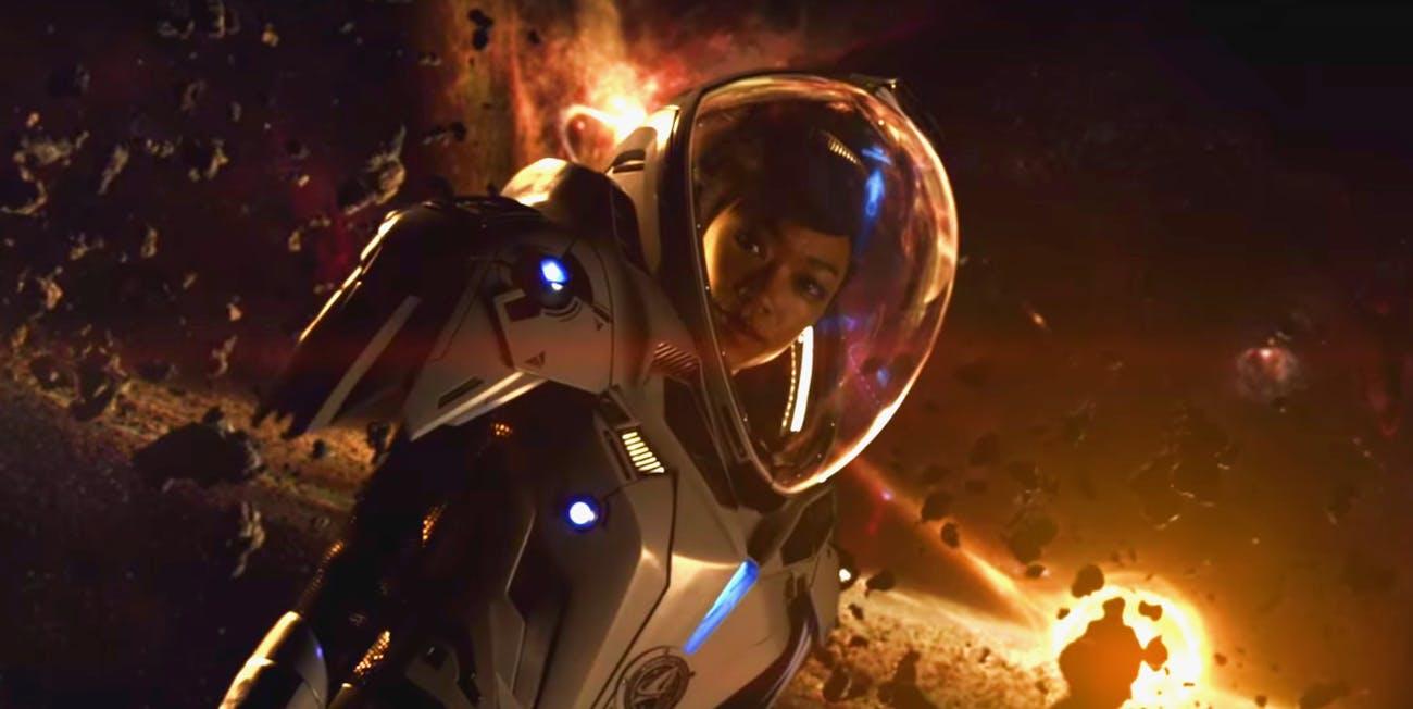Sonequa Martin-Green as First Officer Michael Burnham -- 'Star Trek: Discovery'.