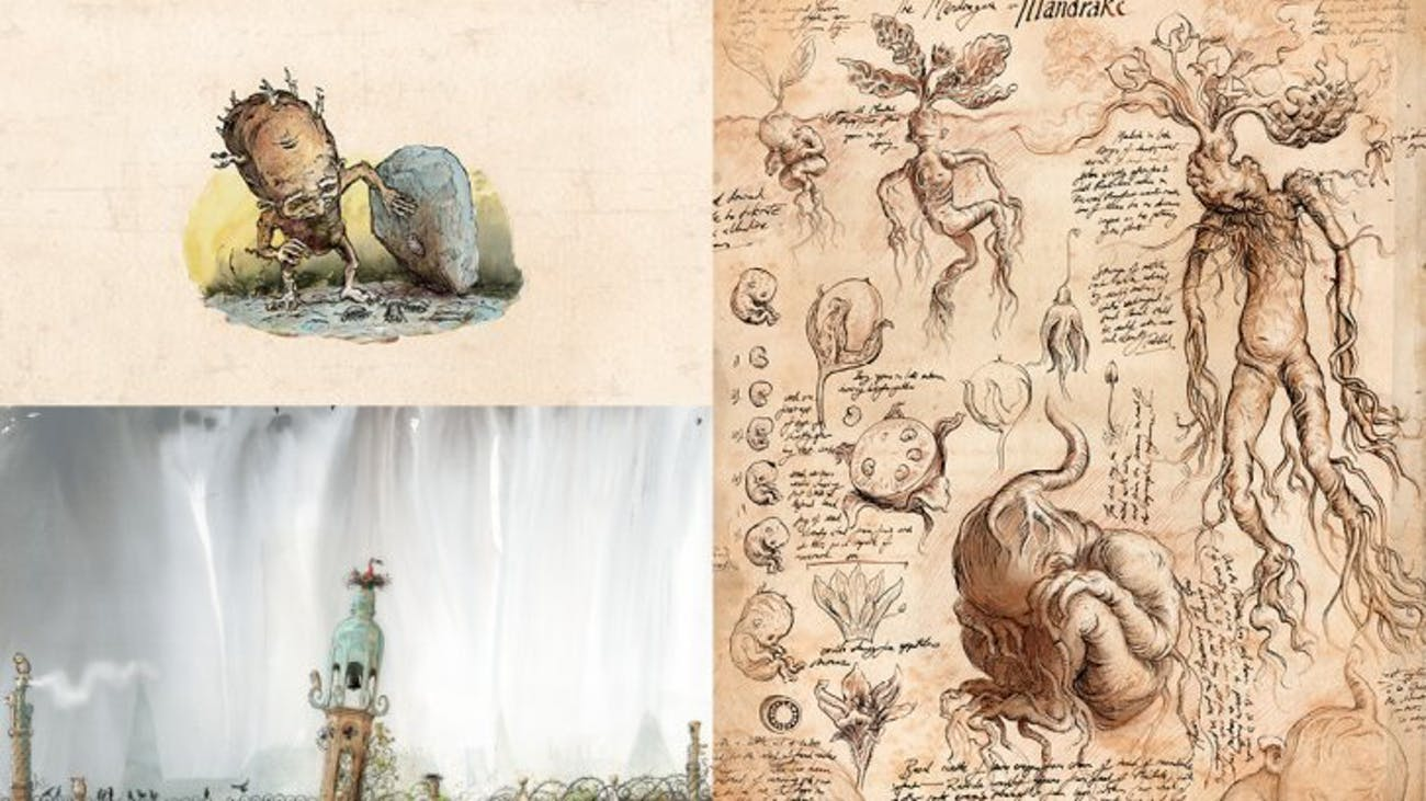 Illustrations from Jim Kay's Illustrated Edition of 'Harry Potter and the Chamber of Secrets'