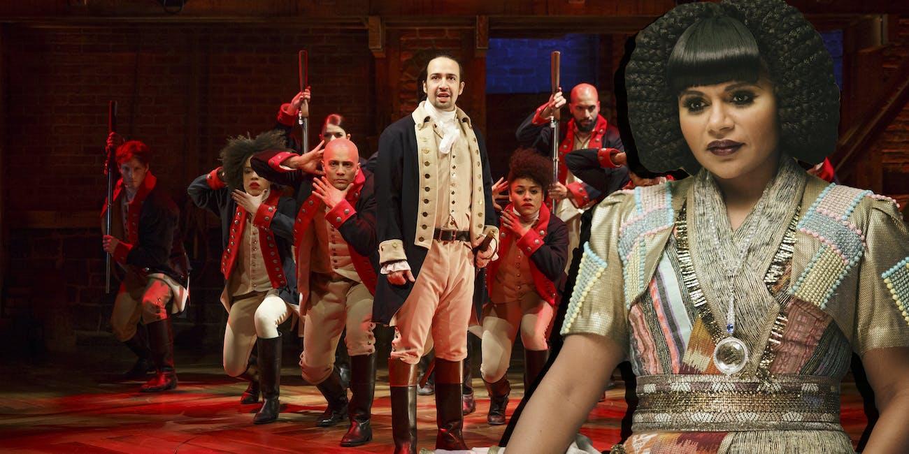 Hamilton meets Mrs. Who
