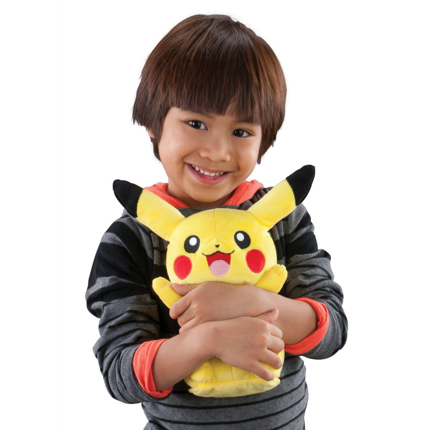 Pikachu and kid, here for size.