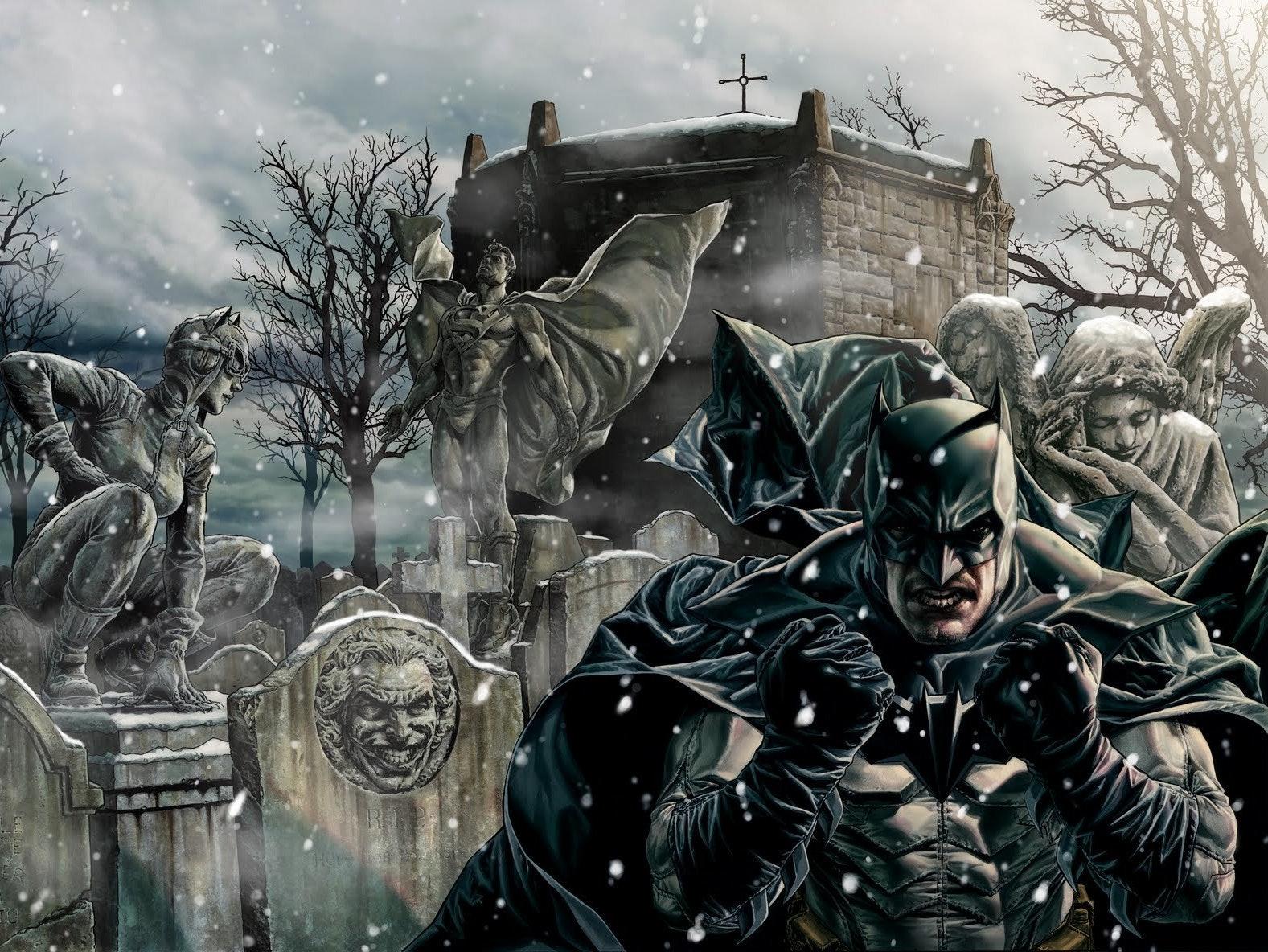 5 Dark Christmas Comics to Read Through the Holidays