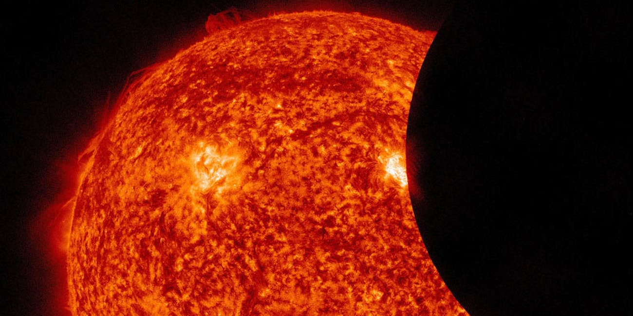 Partial Solar Eclipse Observed By SDO