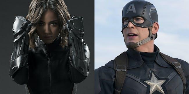 Agents of Shield MCU Avengers
