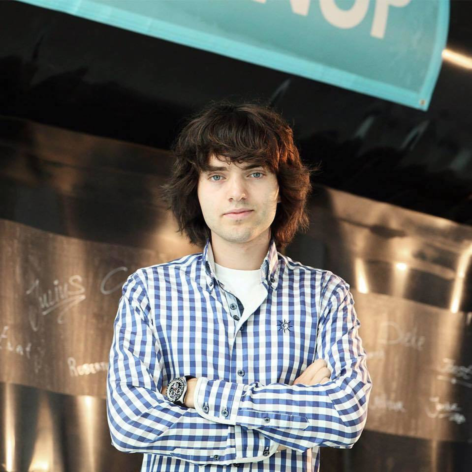Boyan Slat, founder and CEO