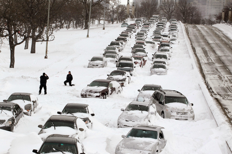 Lake Shore Drive blizzard
