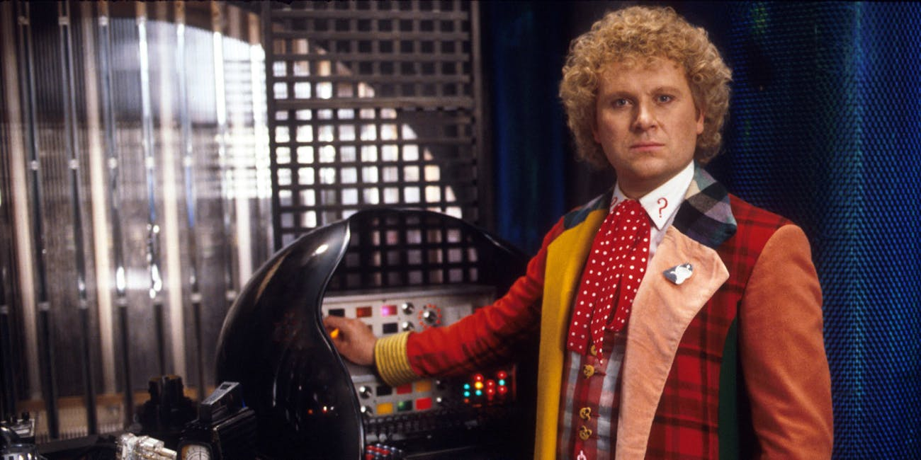 Colin Baker as the 6th Doctor on 'Doctor Who.'