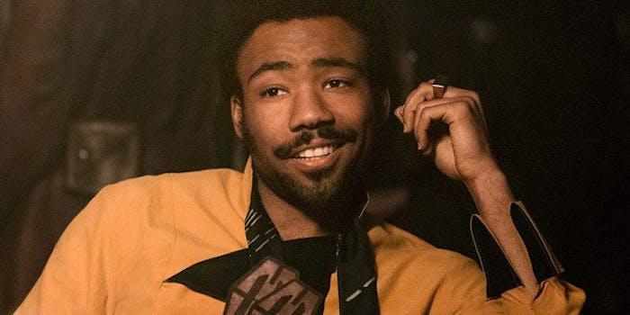 Donald Glover as Lando in 'Solo.'