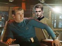 Kirk versus Dad Kirk in 'Star Trek'