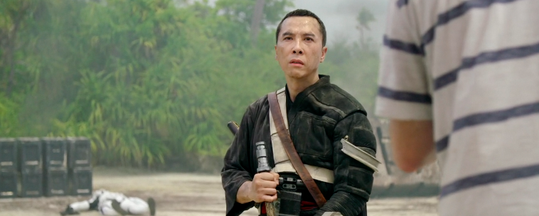 Donnie Yen in 'Rogue One.'