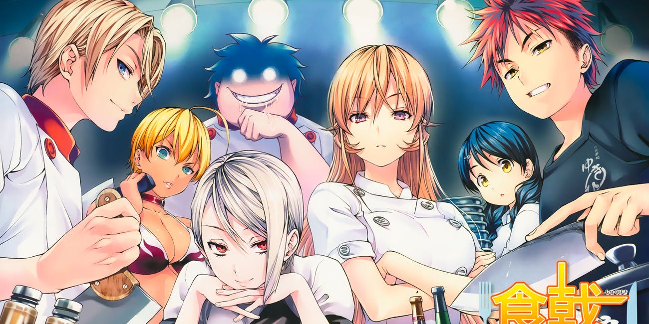 Image from popular Japanese manga, 'Food Wars!: Shokugeki no Soma'