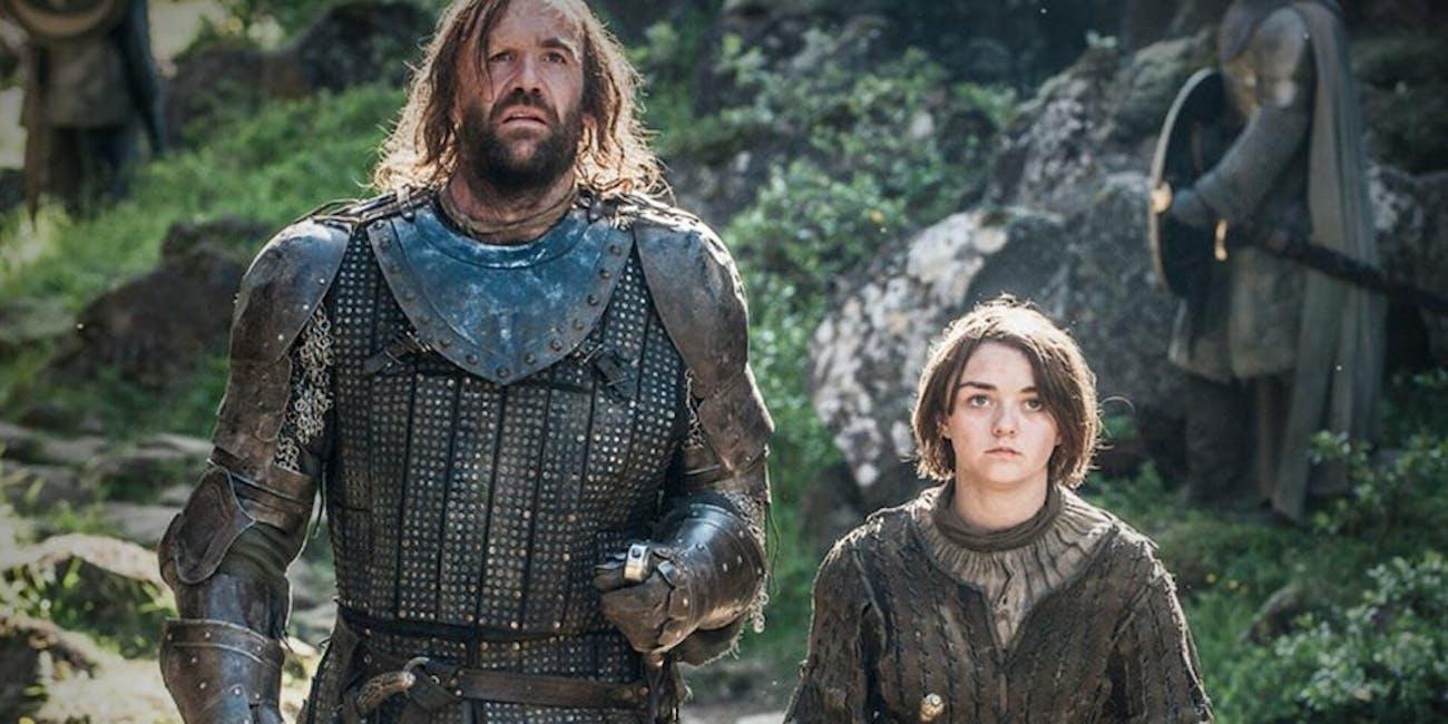 Game of Thrones Hound Arya