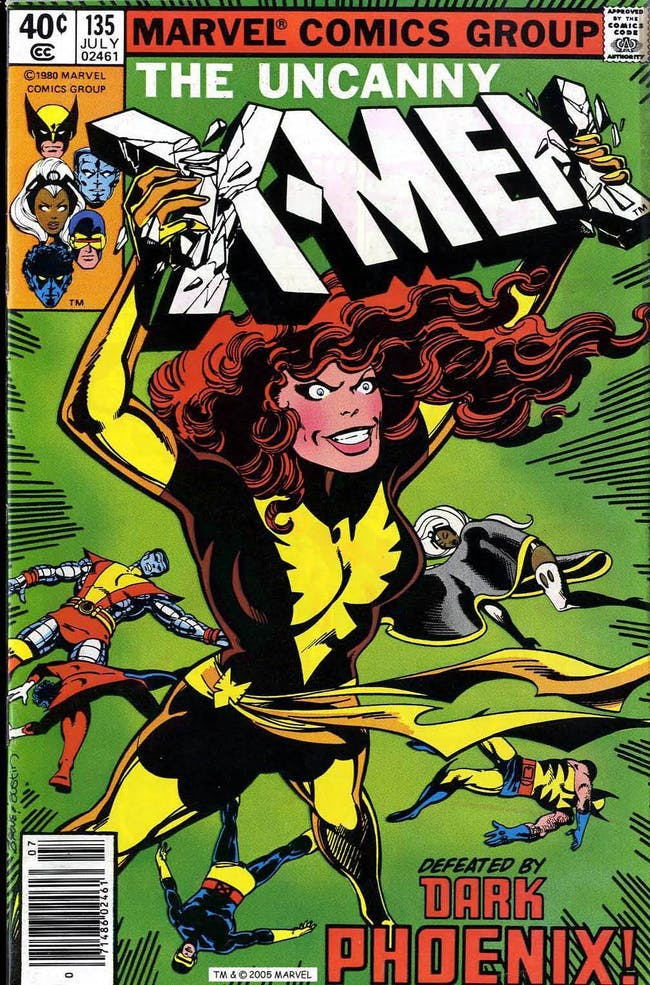 X-Men Marvel Dark Phoenix