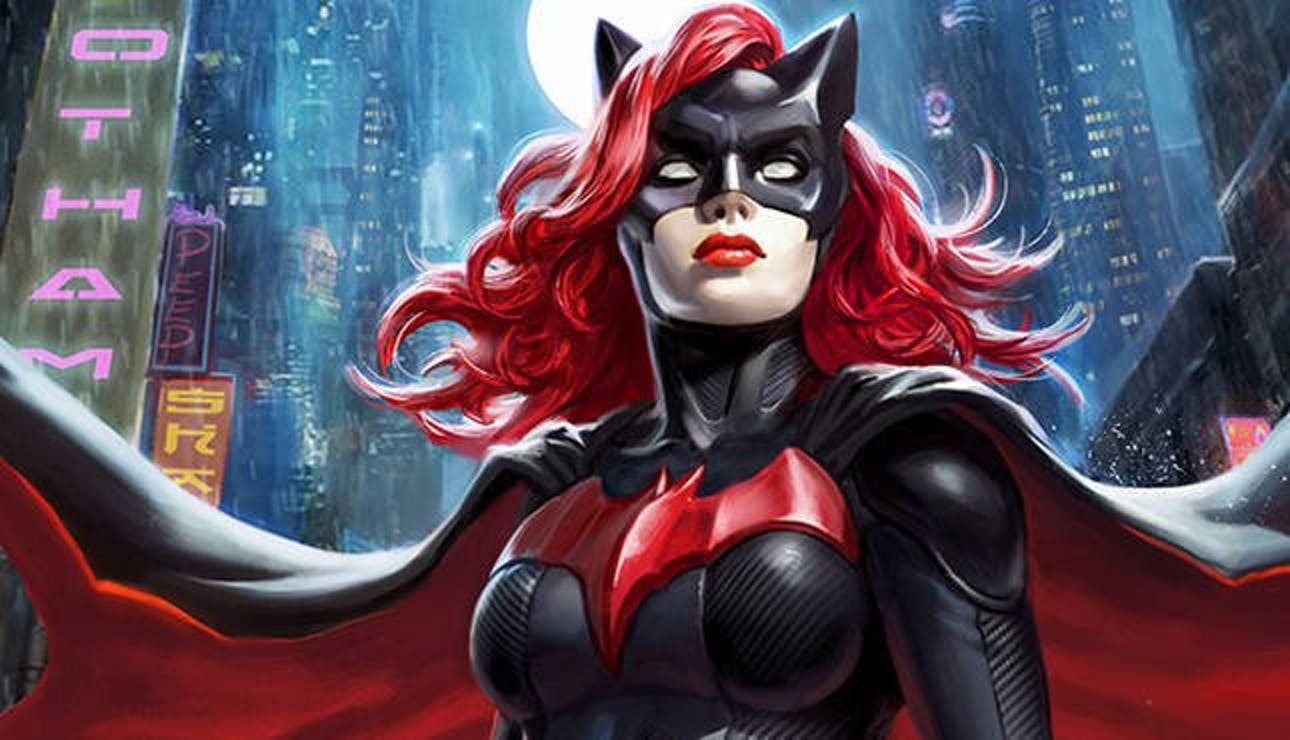 Batwoman as she appears in DC Comics.