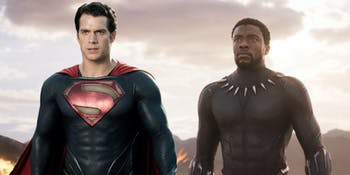 Superman Black Panther Man of Steel