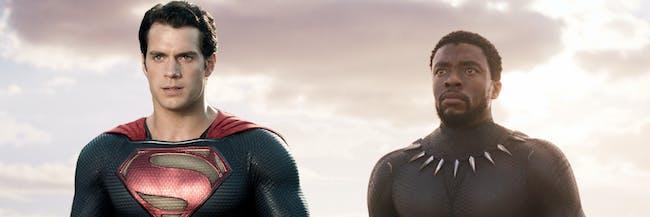 Superman Black Panther Man of Steel