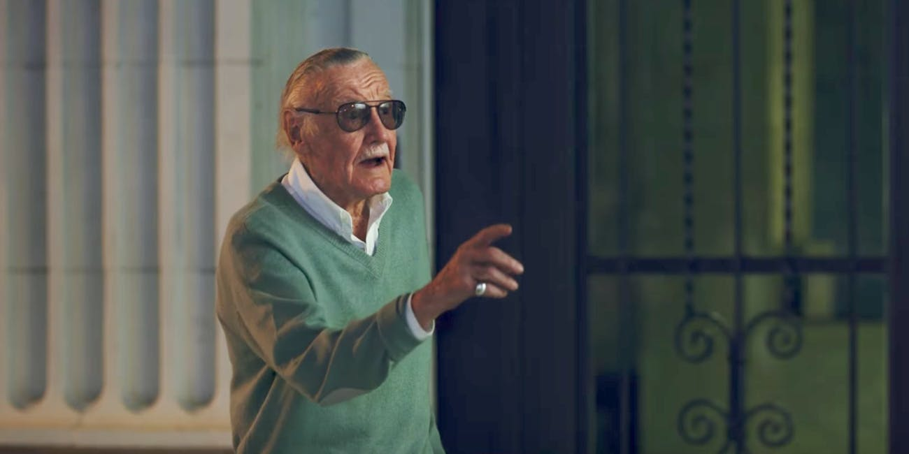 Stan Lee Spider-Man Homecoming Cameo