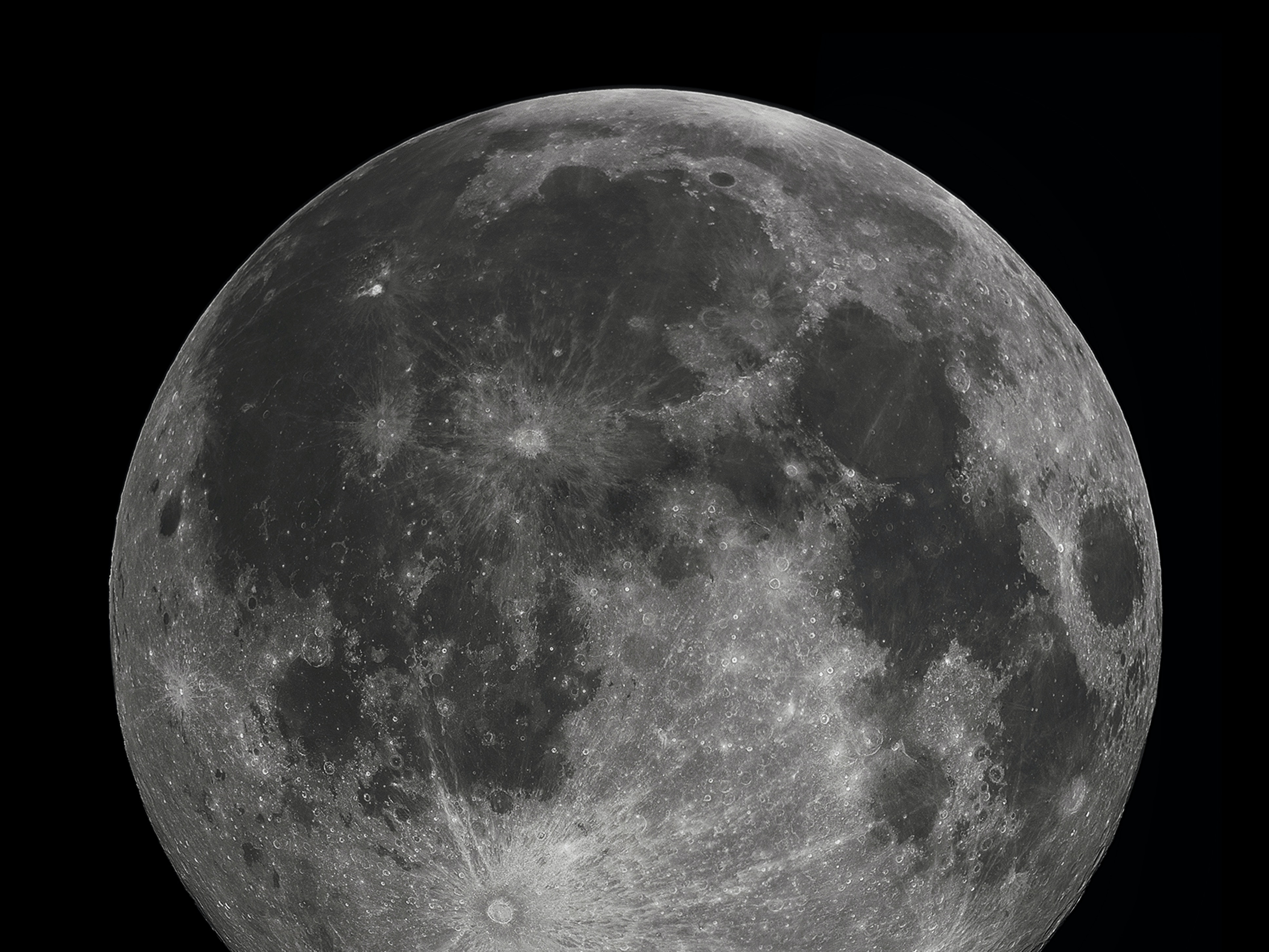 A full moon in 2010