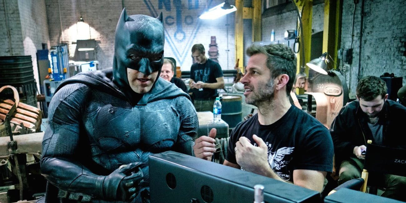 Ben Affleck and Zack Snyder have worked on 'Justice League' and 'Batman v Superman' together.