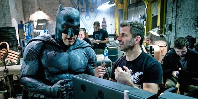Ben Affleck and Zack Snyder have worked on 'Justice League' and 'Batman v Superman' together.