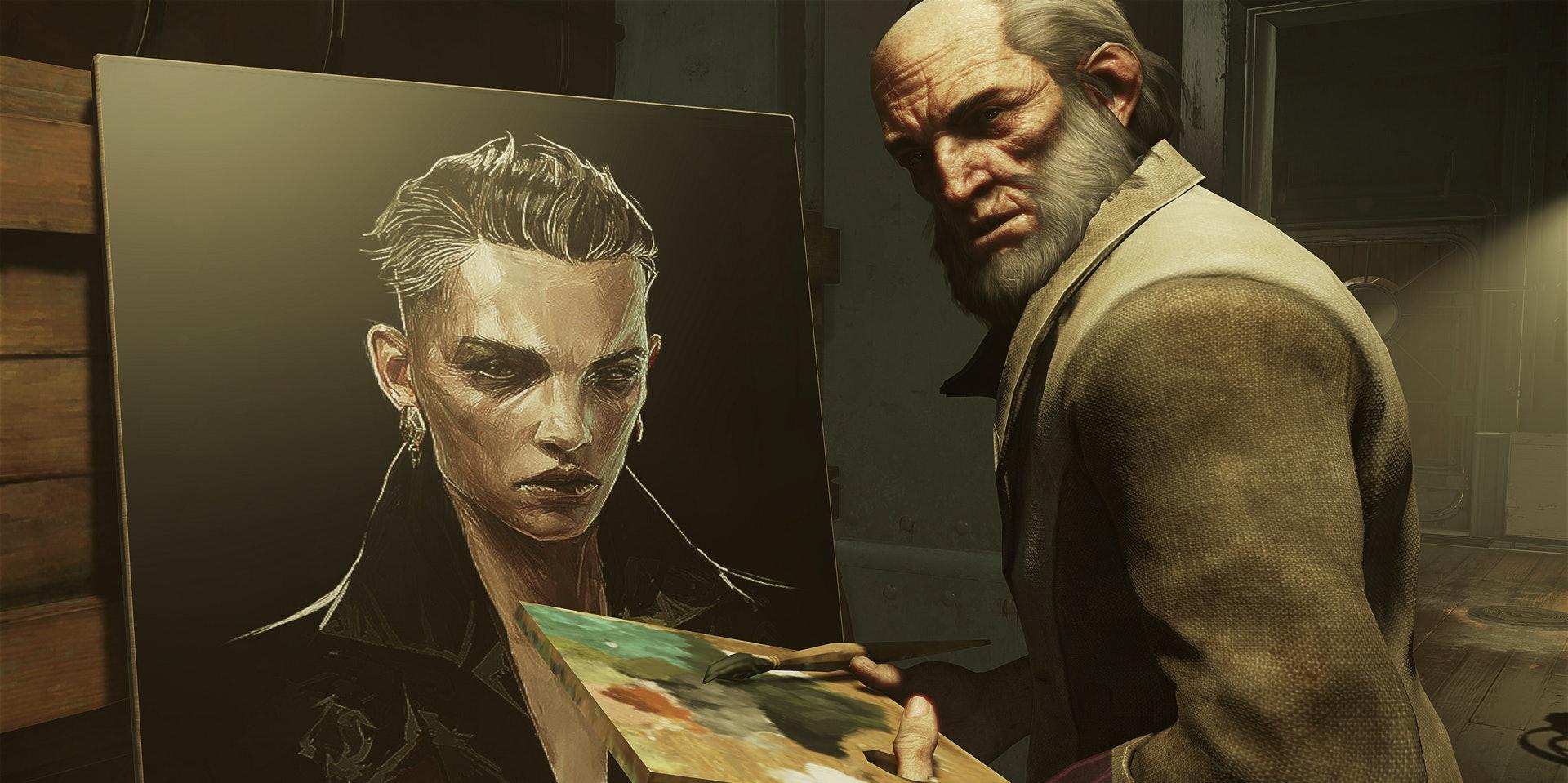 This is Anton Sokolov, seen here painting the usurper, Delilah.