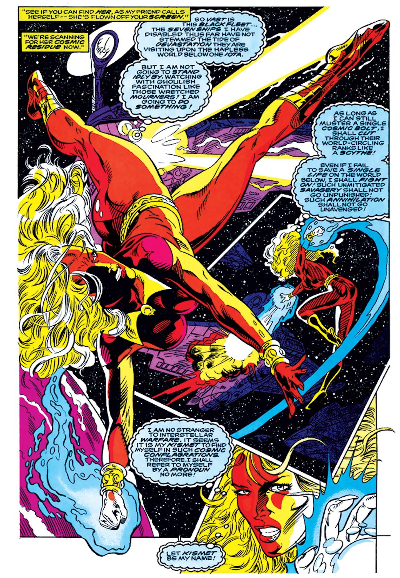 Ayesha Kismet Guardians of the Galaxy
