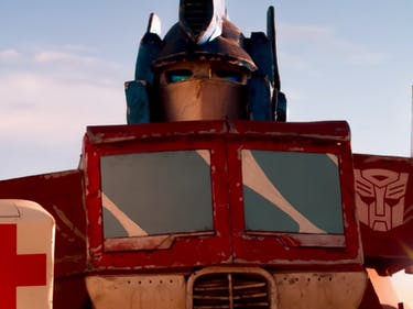 Take Transformers Cosplayers, Put Them in the Desert, Make a Movie
