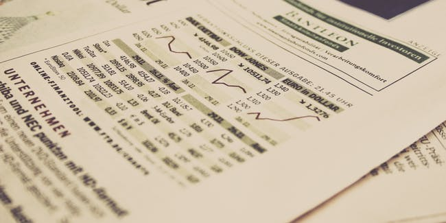 financial stock prices