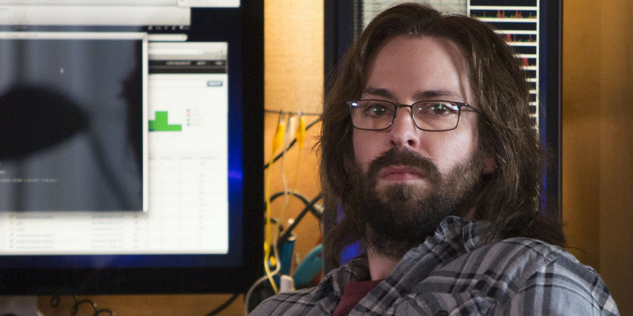 Martin Starr as Gilfoyle in HBO's 'Silicon Valley'