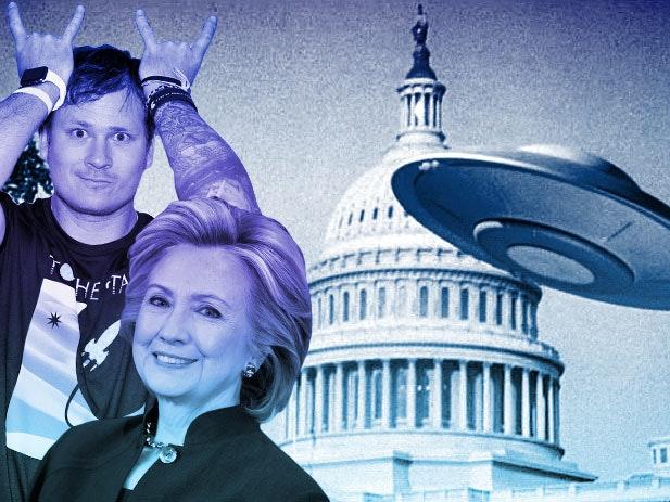 Wikileaks: Clinton Campaign Chief Might Be in Tom DeLonge UFO Doc