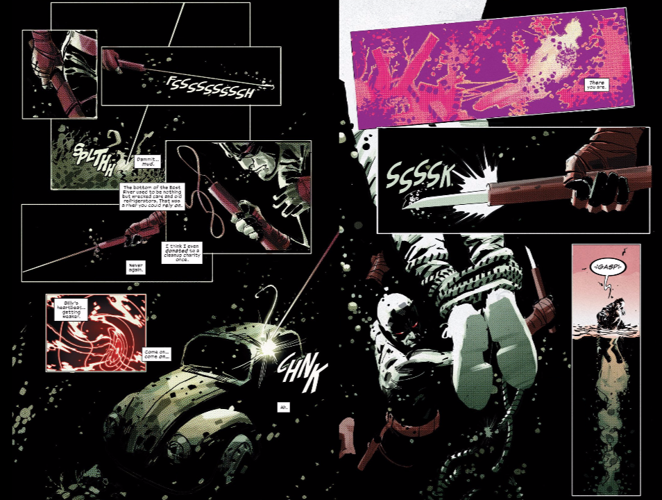 From 'Daredevil' issue #1, from Charles Soule and Ron Garney.