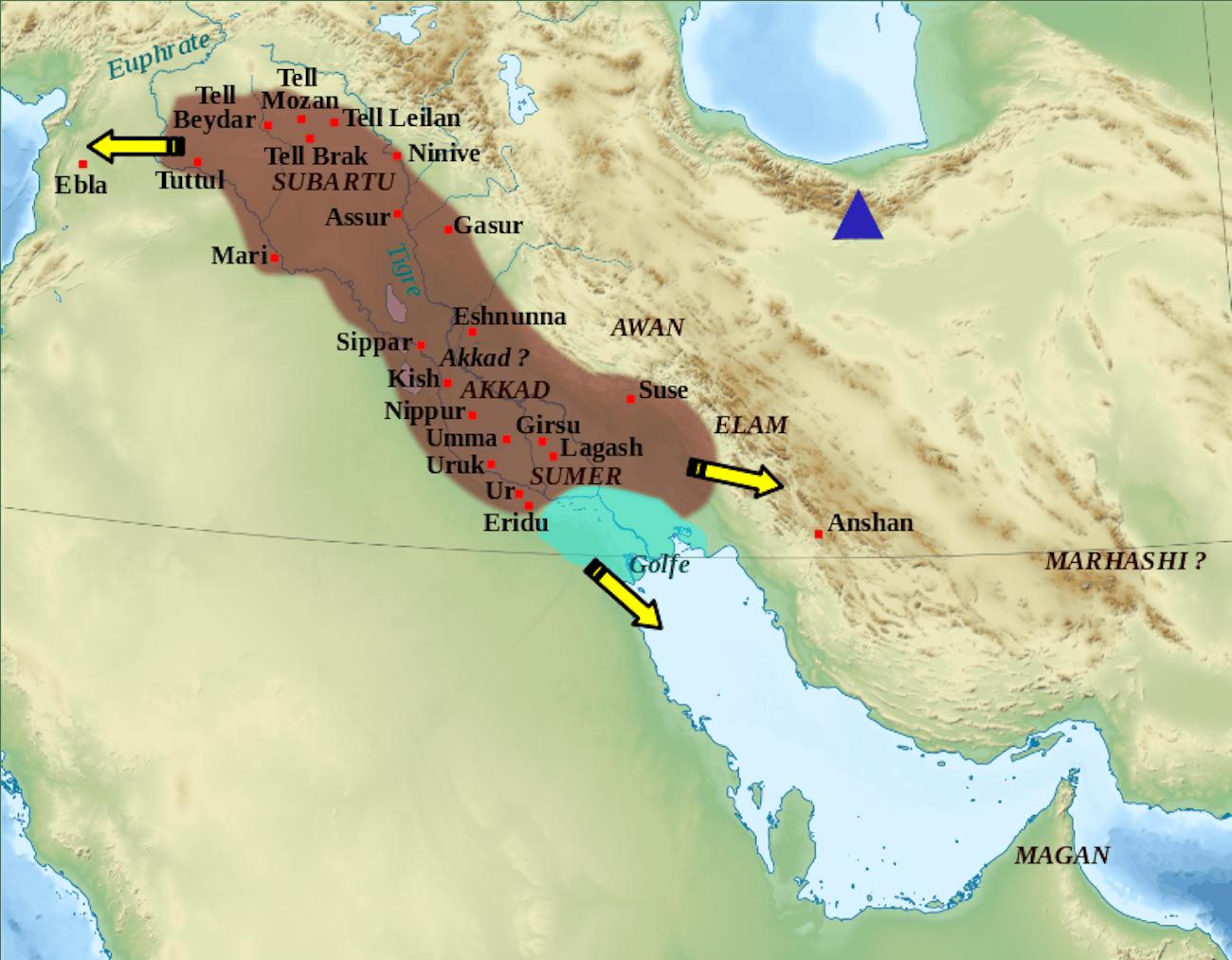 Akkad empire