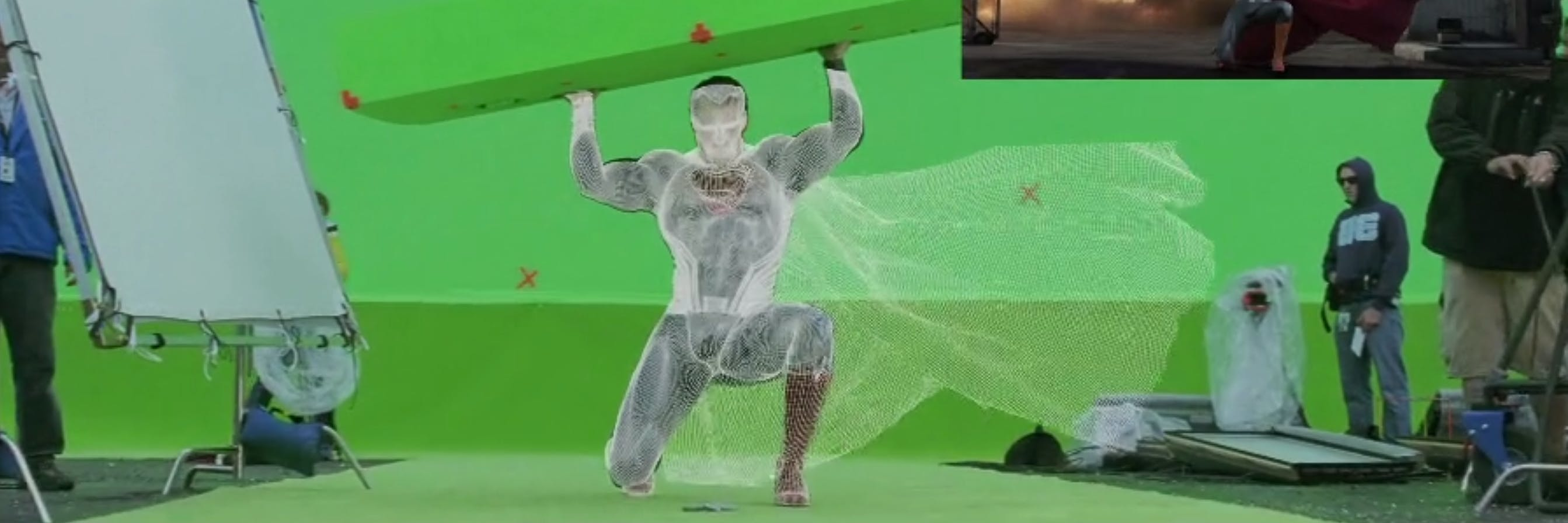 'Batman v Superman' VFX reel.