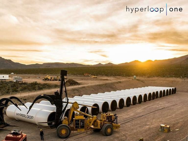 Hyperloop Technologies Announces New Name, Wednesday Propulsion Test, and More