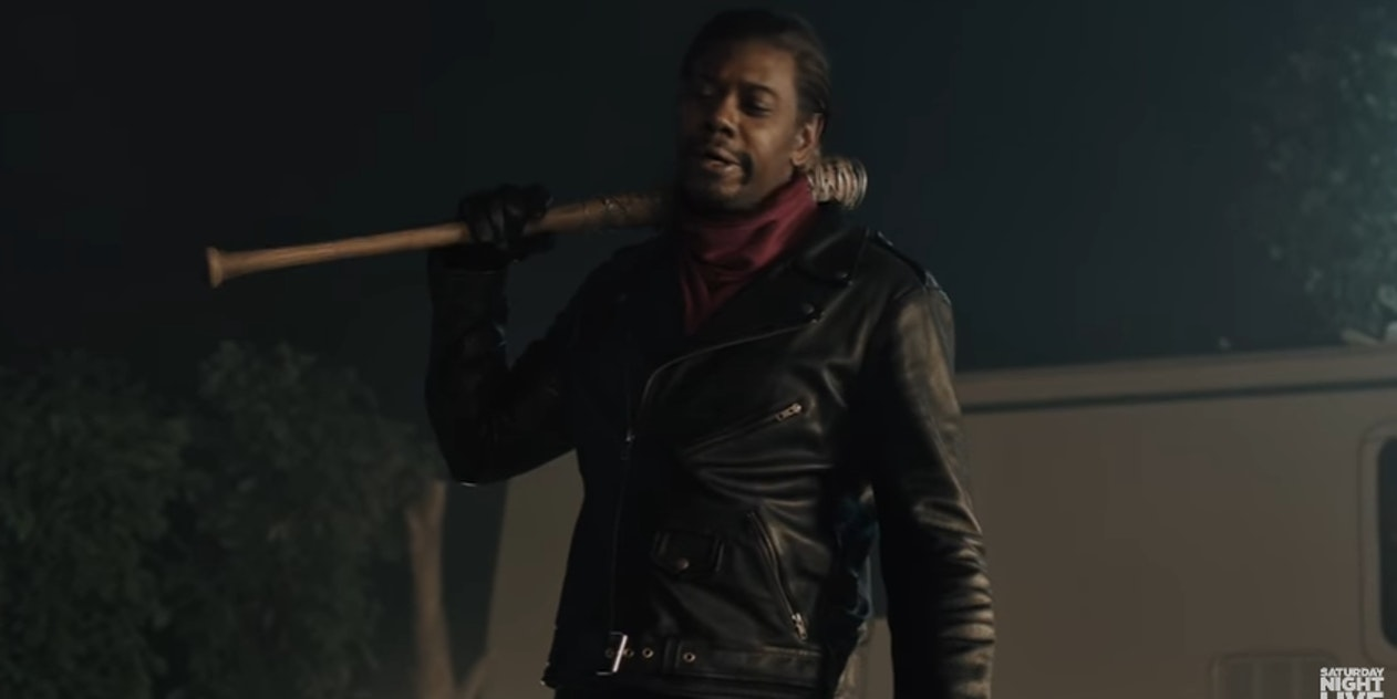 Chapelle's portrayal of Negan is comic gold.