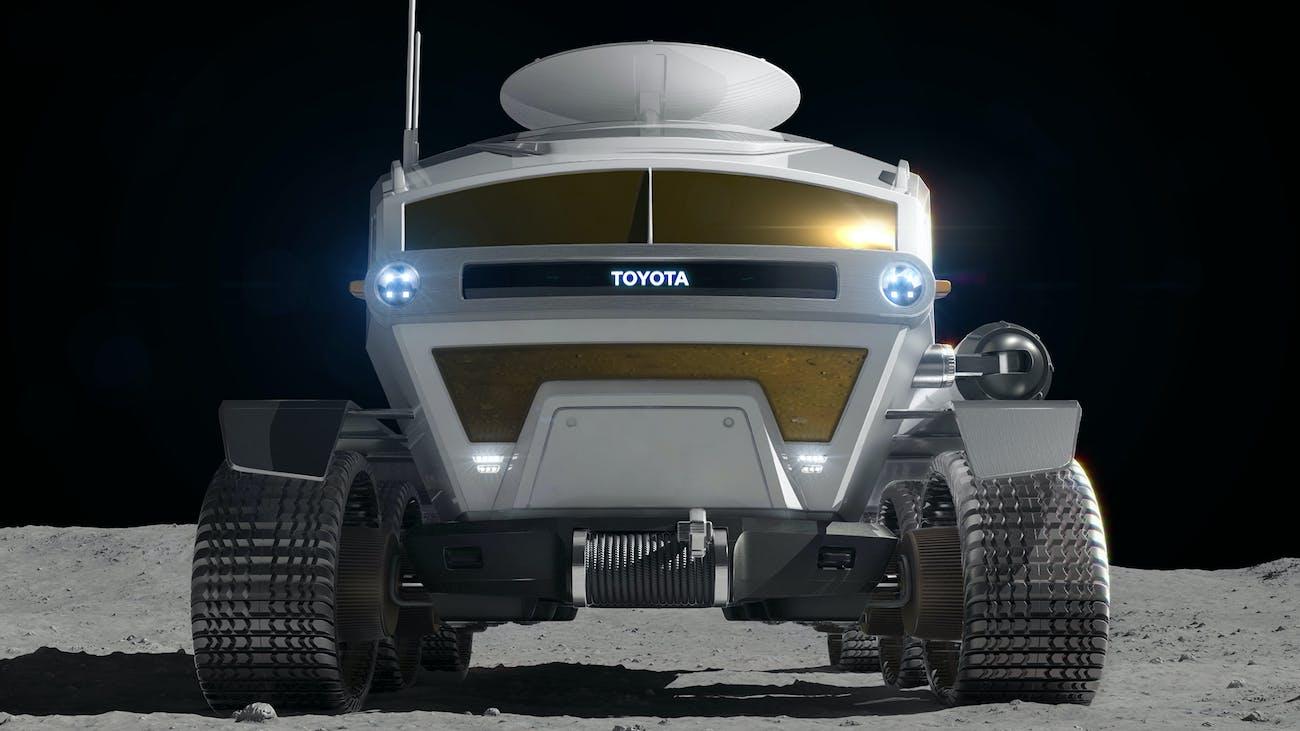 toyota jaxa lunar rover