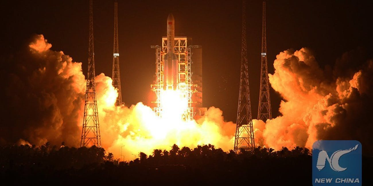 China successfully launches the first Long March 5 rocket