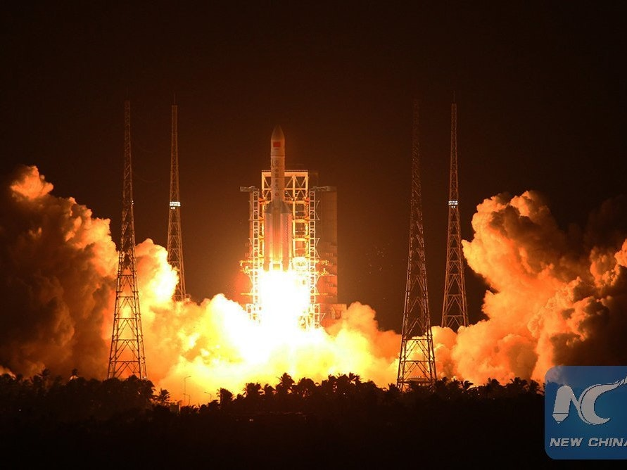 China's Space Dreams Soar on the Long March 5 Rocket