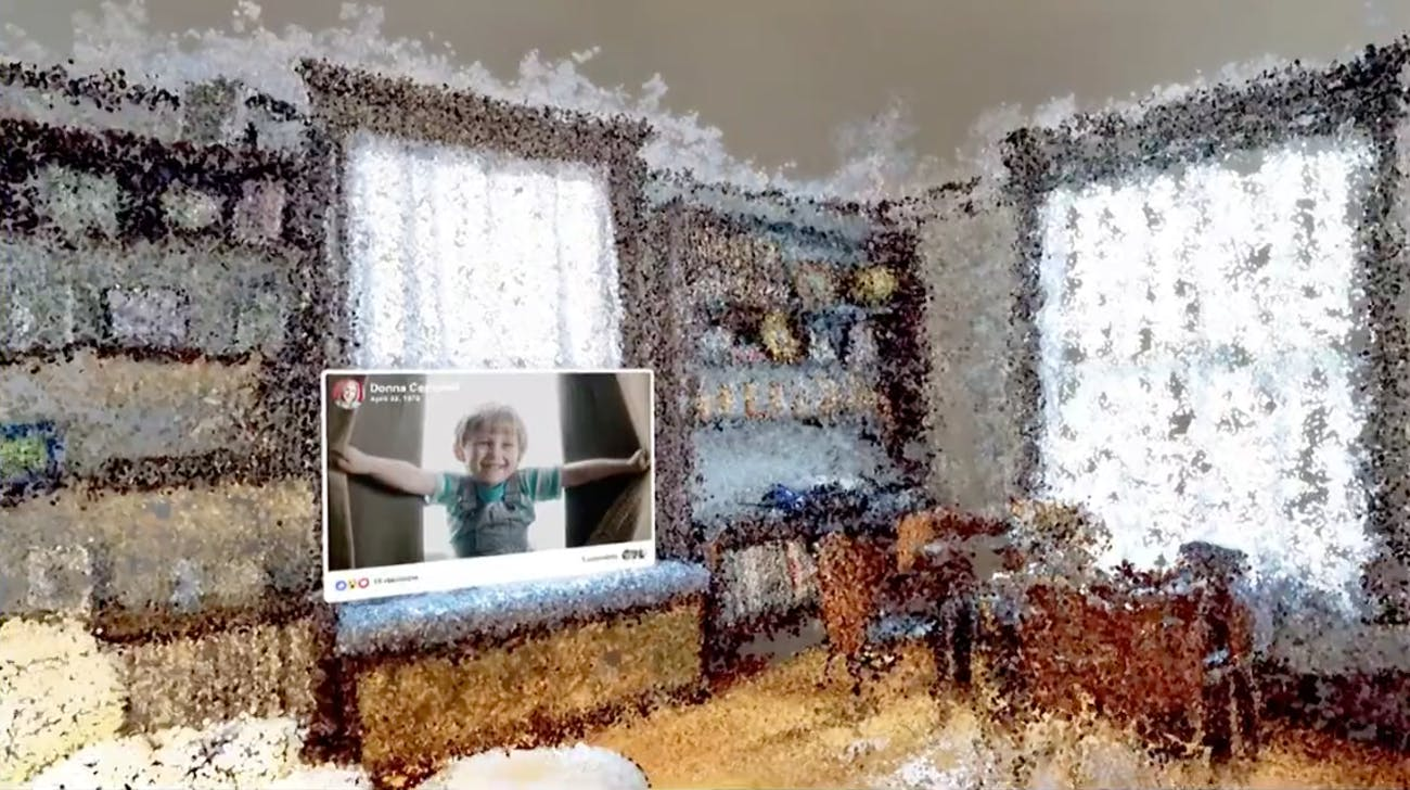Facebook f8 virtual reality memories childhood home