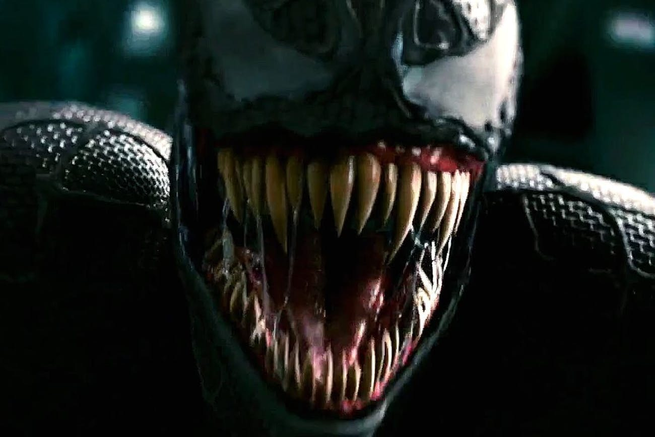 Venom as the character appears in 'Spider-Man 3' (2007).
