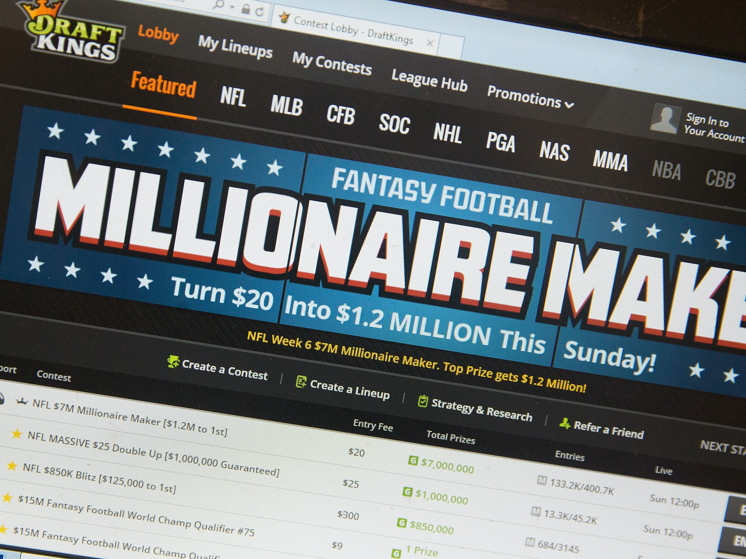 Watch 'The New York Times' and PBS Blow the Lid Off Fantasy Sports Gambling