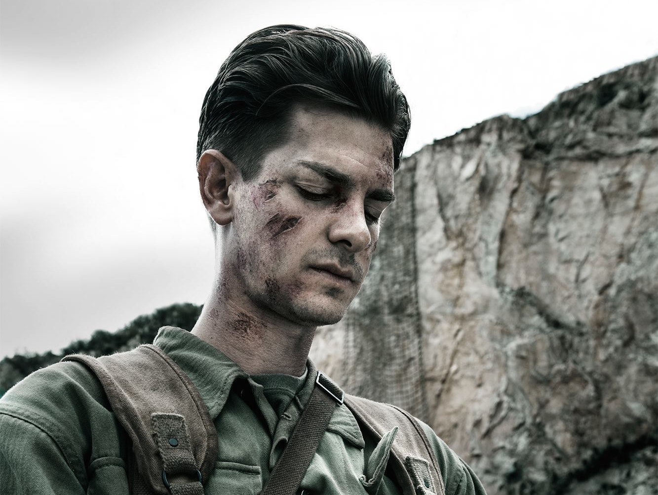 Andrew Garfield in 'Hacksaw Ridge'