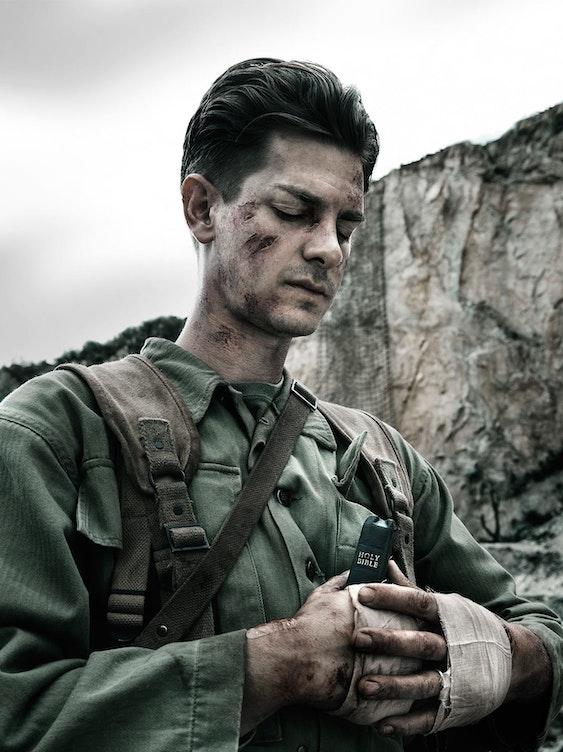 Andrew Garfield in 'Hacksaw Ridge'