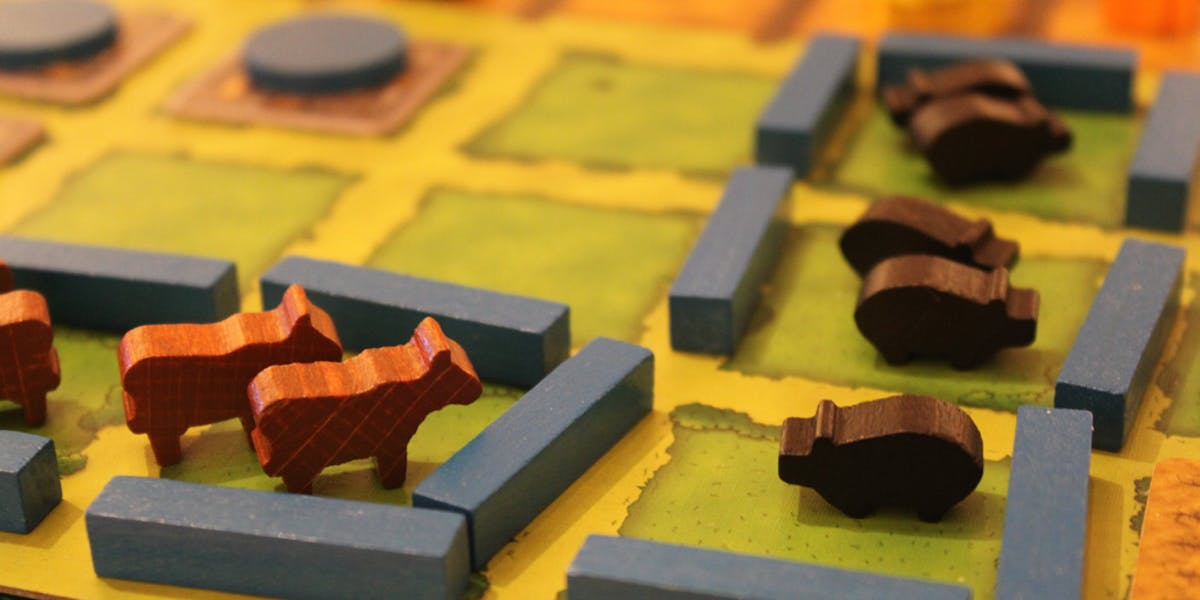 Nothing says booze-fueled fun fest like little wooden animals. Thanks Agricola!