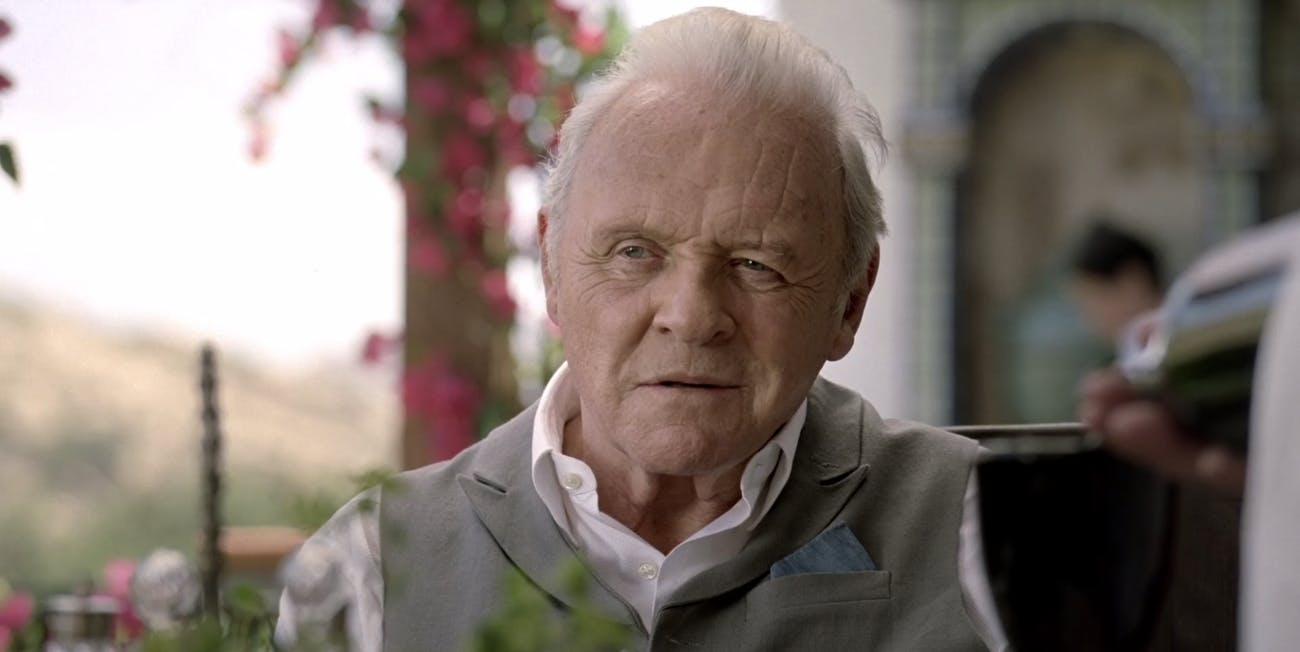 Anthony Hopkins as Dr. Robert Ford in 'Westworld' is exactly like Hannibal Lecter.