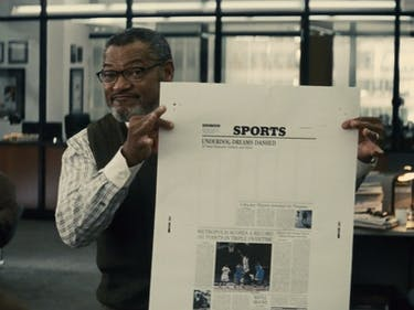 Lawrence Fishburne Wants to Know WTF DC Movies Are Doing