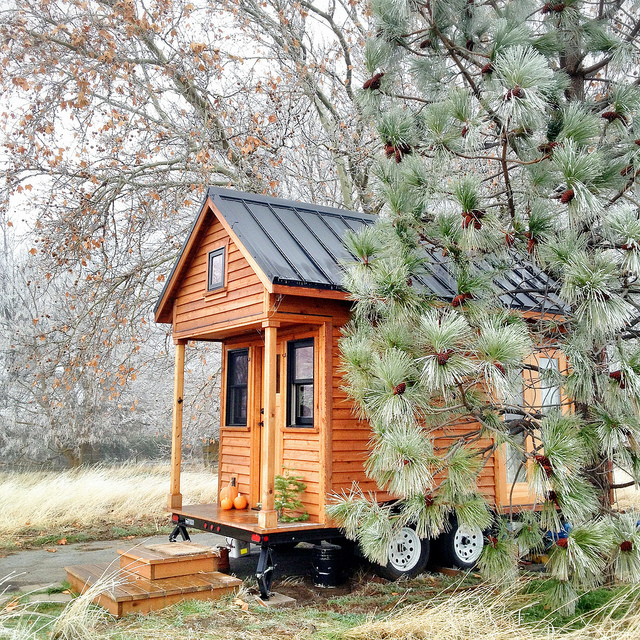The typical tiny house is between 100 and 400 square feet.