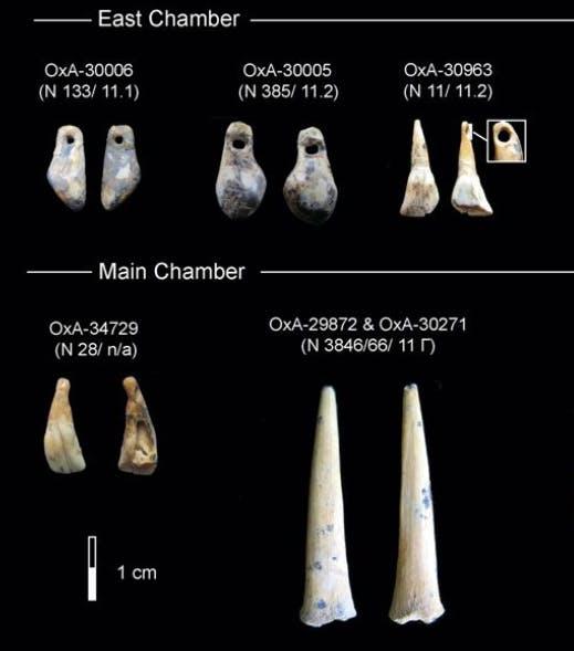 Denisova, artifacts